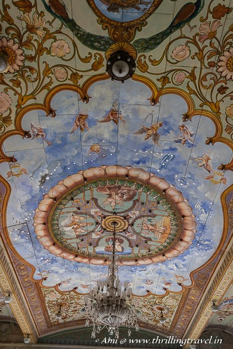 The Stucco Ceiling art with the 12 zodiacs