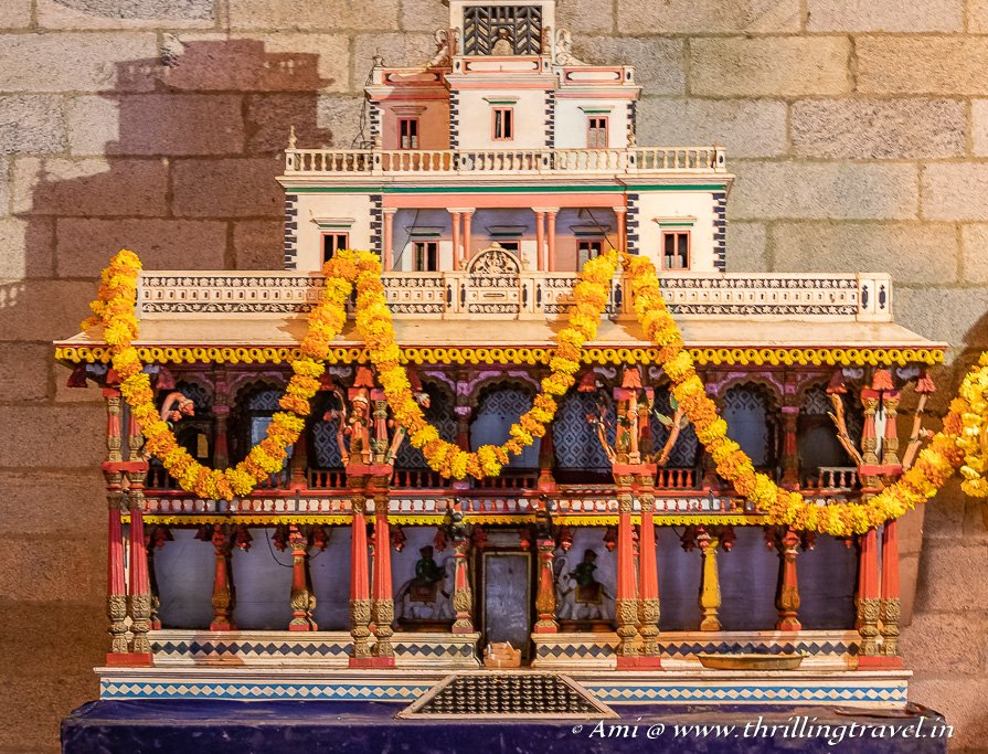 Model of the Wooden Palace of Mysore
