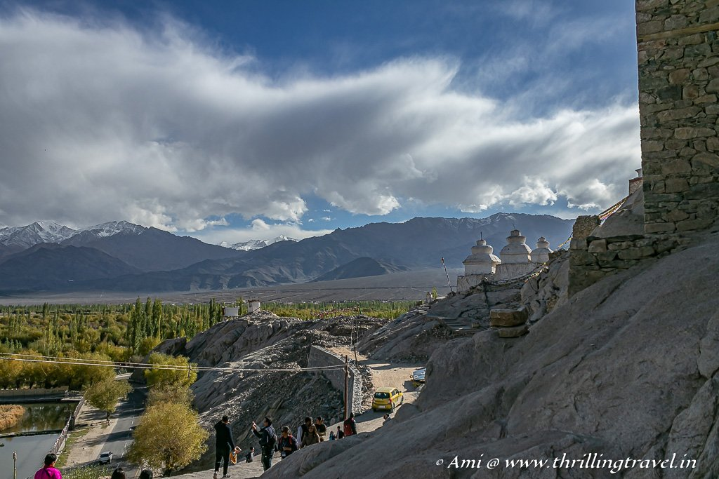 Visit Shey Palace and Monastery on the Leh-Manali highway in Ladakh
