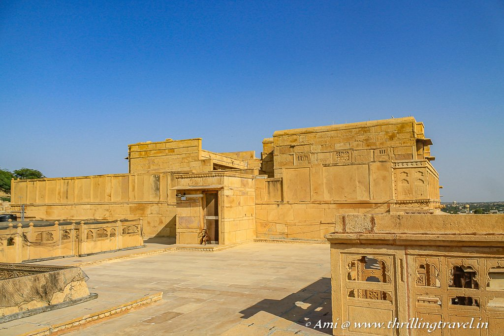 The Terrace of Patwon Ki Haveli Jaisalmer