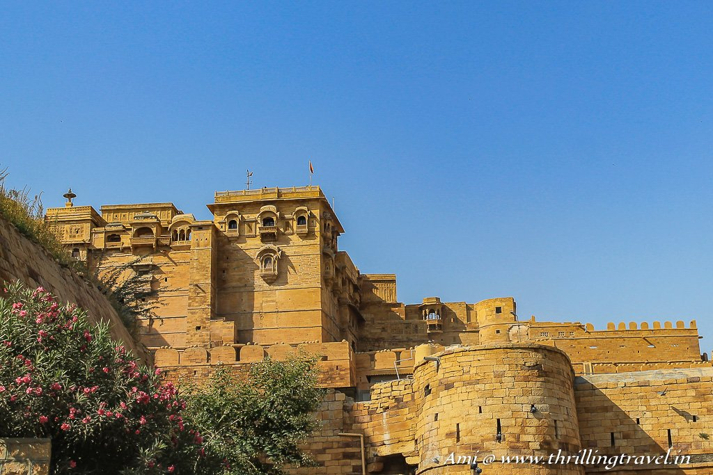 The living fort of Jaisalmer forms the heart of the Golden City