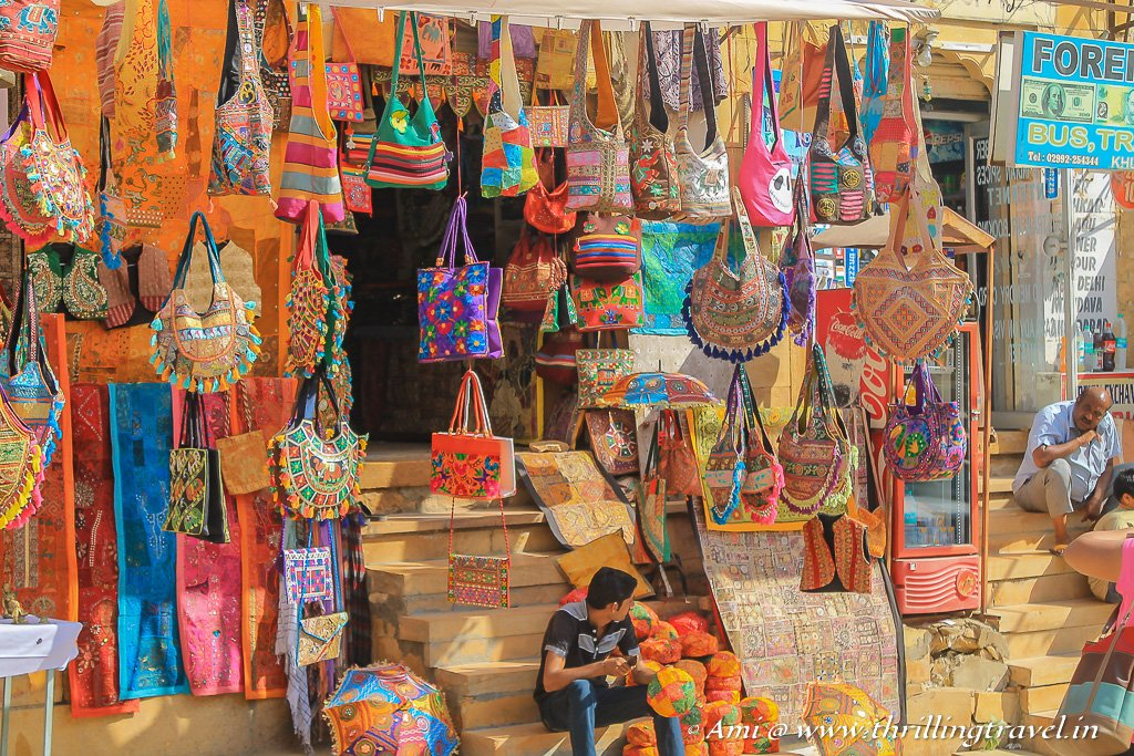 Shopping in Jaisalmer Fort