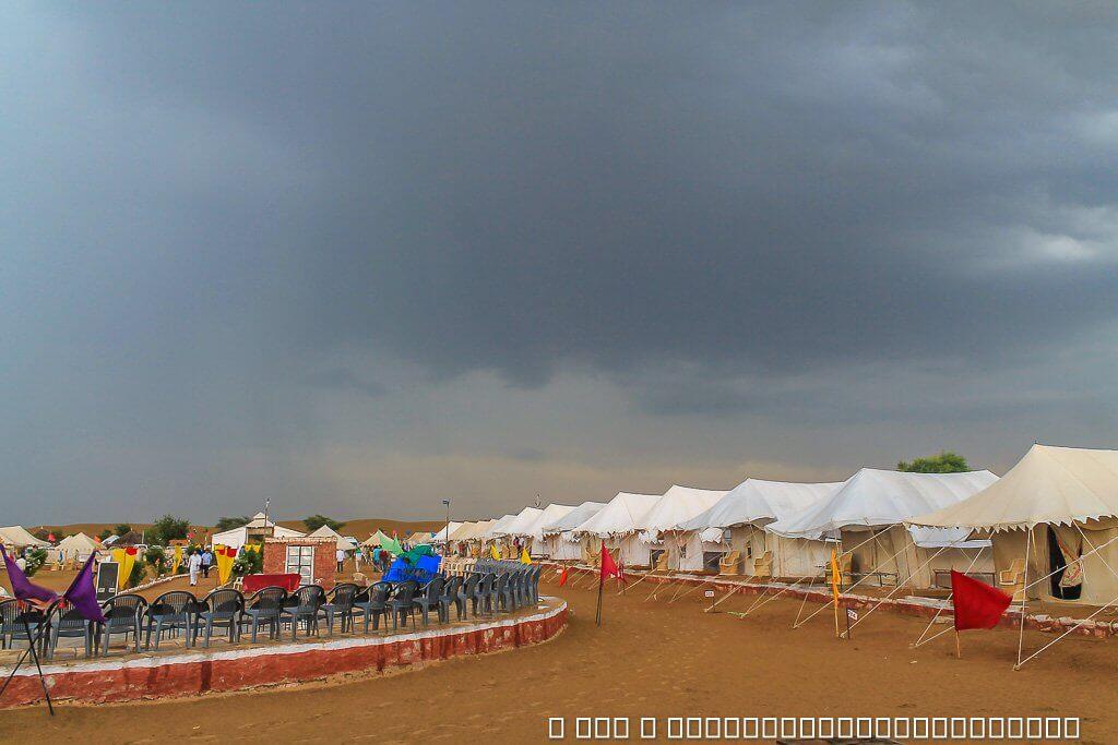 Jaisalmer Desert Camp in Sam Dunes