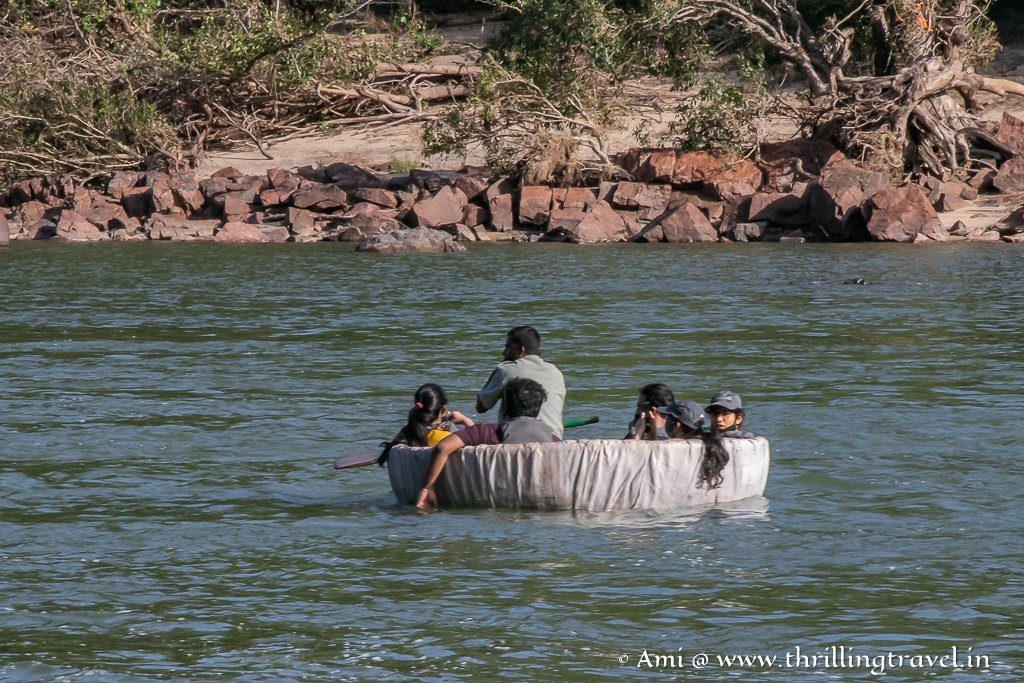 One of the things to do in Galibore - Coracle Rides