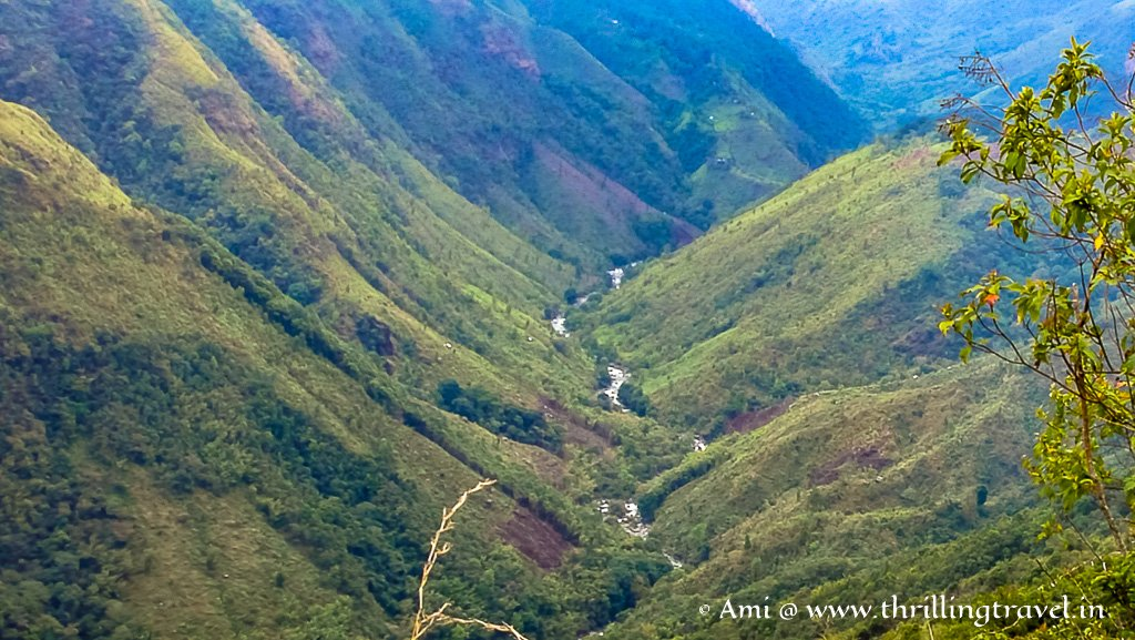 Mawkdok Valley view - a lovely addition to your list of Cherrapunji Sightseeing