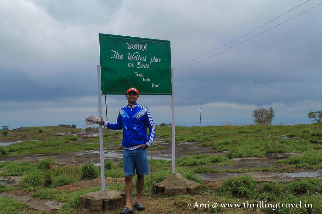 Welcome to Cherrapunji (Sohra) - One of the wettest places on earth.