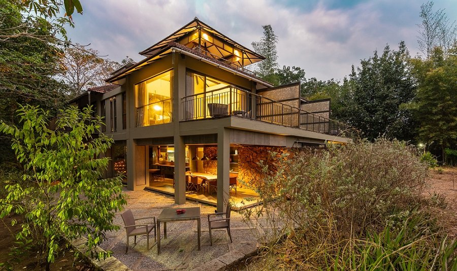 Kaav Safari Lodge - the current structure
