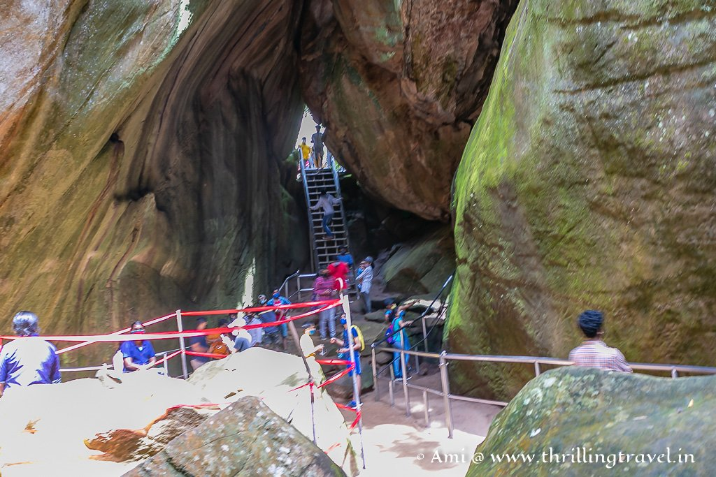 Edakkal Caves History does have a mythological reference to how these rocks split to form caves