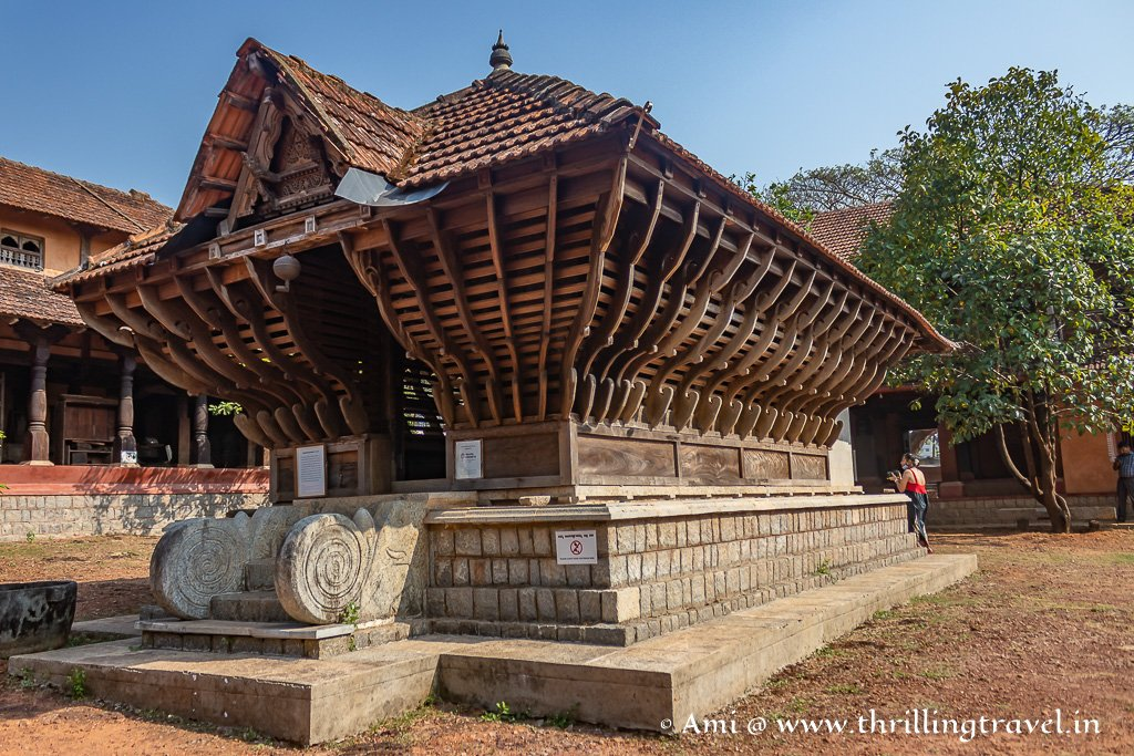 Harihara Mandir at the Manipal heritage village