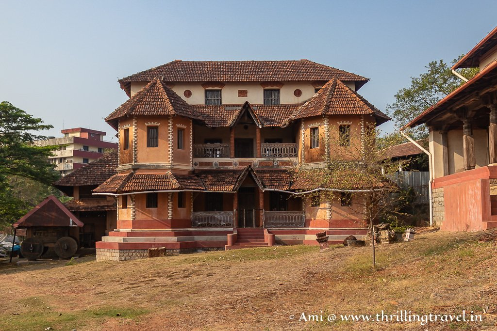 One of the reconstructed homes in the Manipal Heritage Village