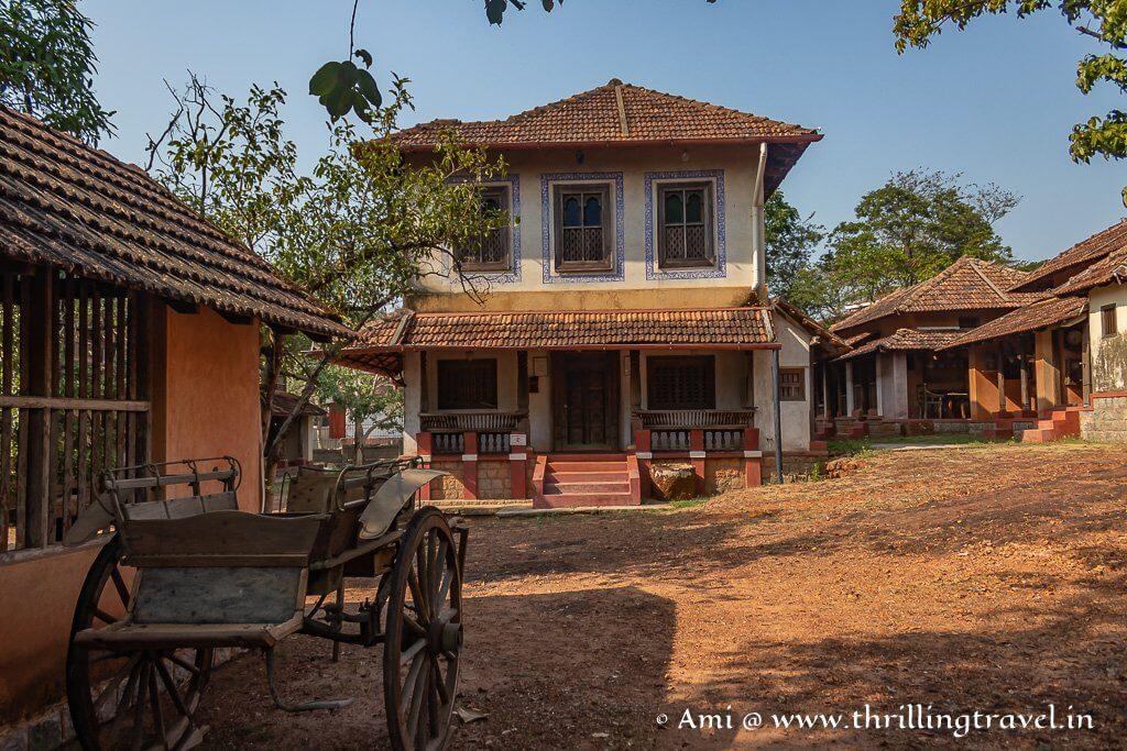 Hasta Shilpa Heritage Village in Manipal