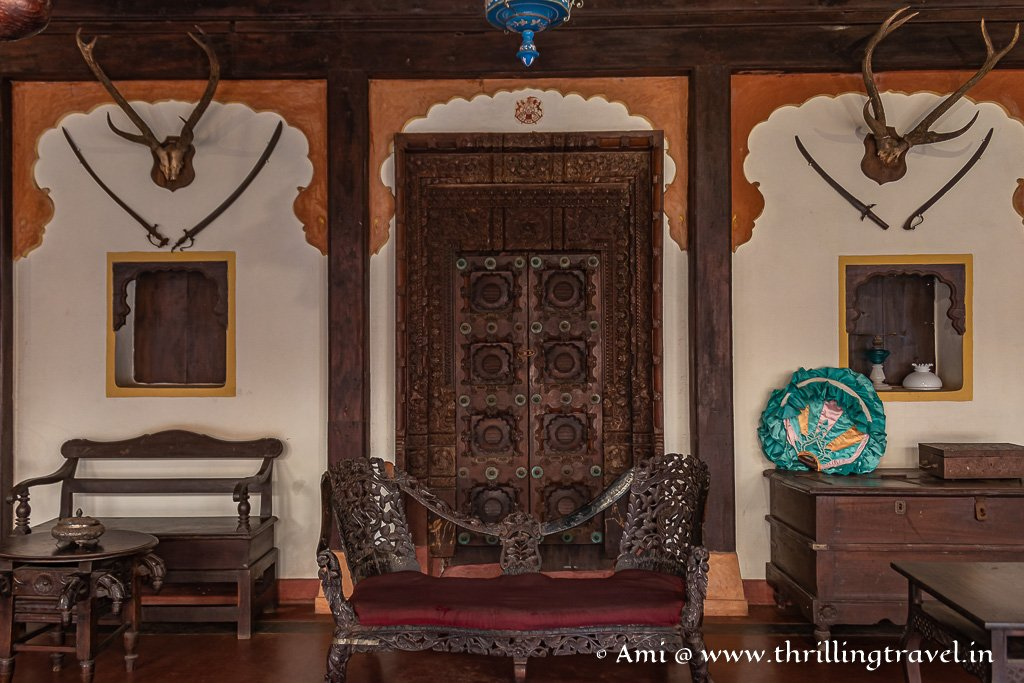 Mudhol Palace Durbar at Heritage Village Museum