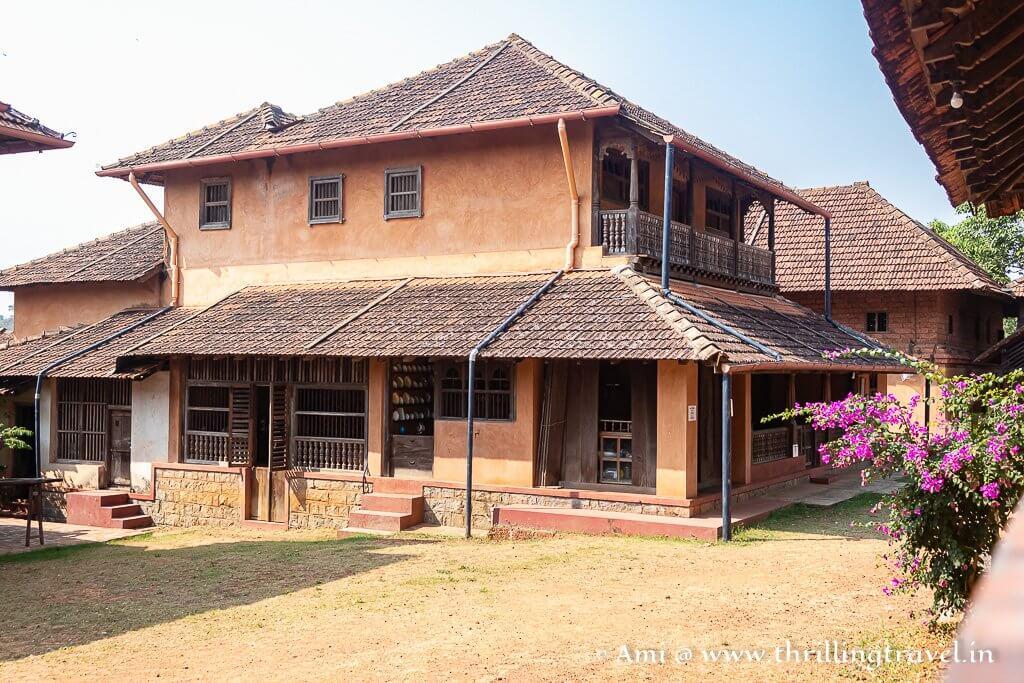 Sringeri house at the heritage village Manipal