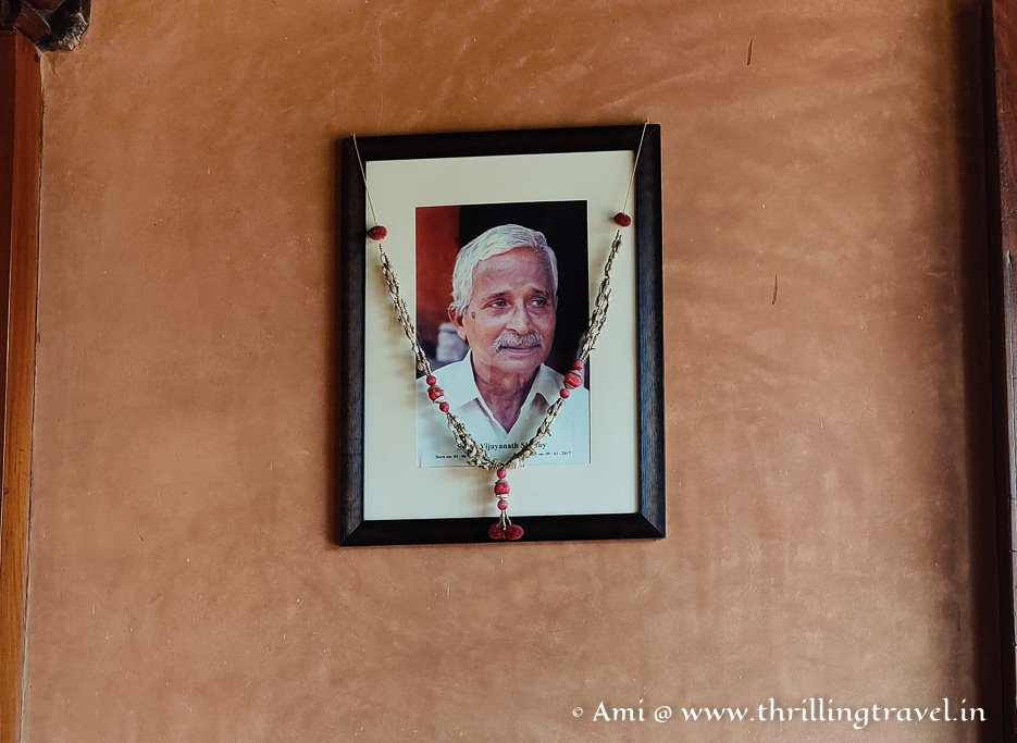 Vijayanatha Shenoy - the founder of Hasta Shilpa heritage village in Manipal