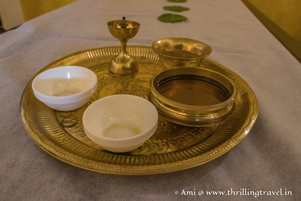 Try a relaxing Ayurvedic Massage when in Byndoor