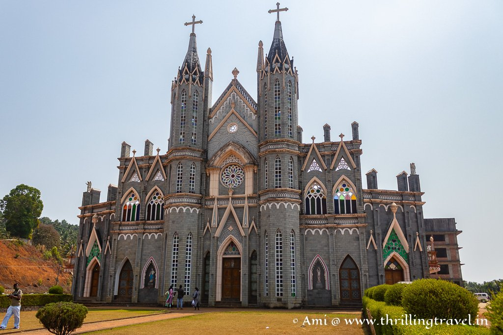 The front part of this St. Lawrence church Attur was a recent addition