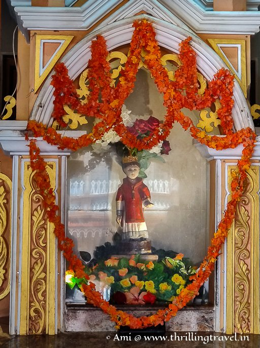 The miracle statue of St. Lawrence at Karkala church