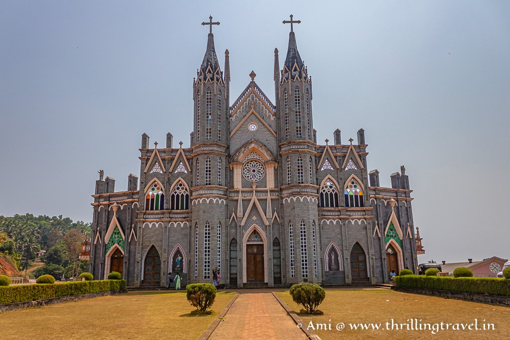 The fairy-tale like St. Lawrence Church Attur
