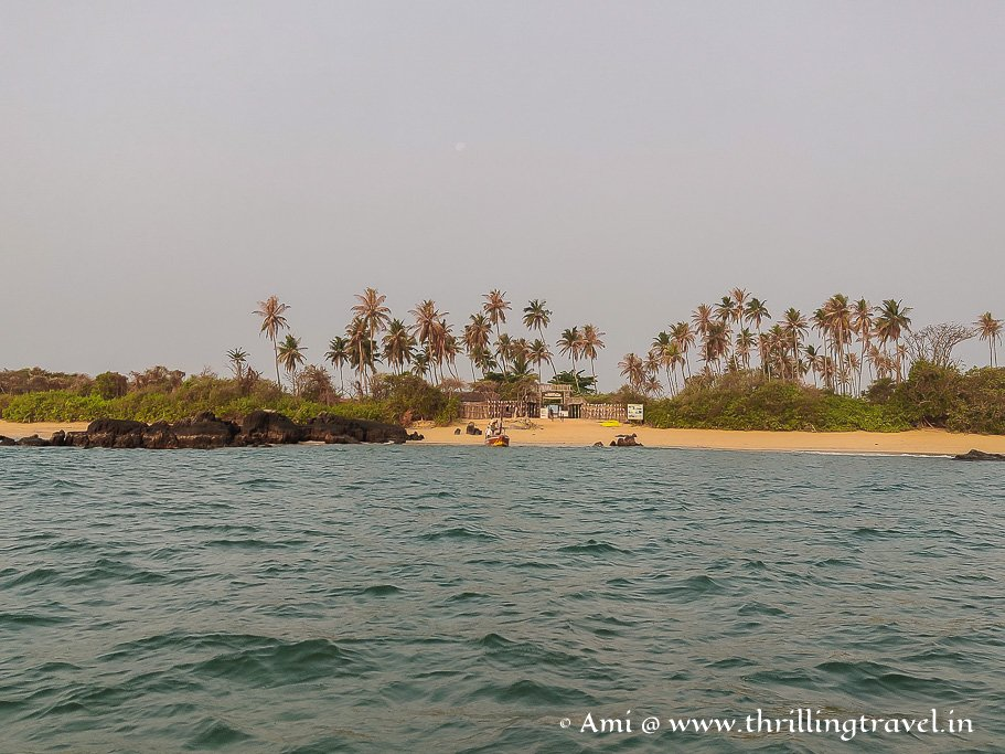 St Mary's Island Udupi - off the shores of Malpe beach