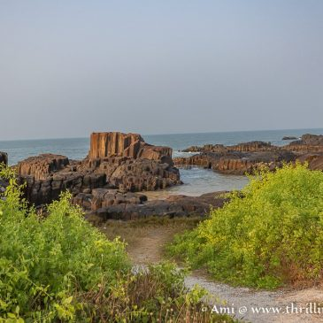 St Mary's island Udupi – A national geological monument off Malpe Beach