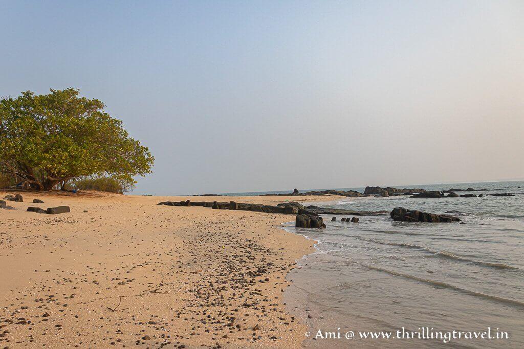 St Mary's island beach