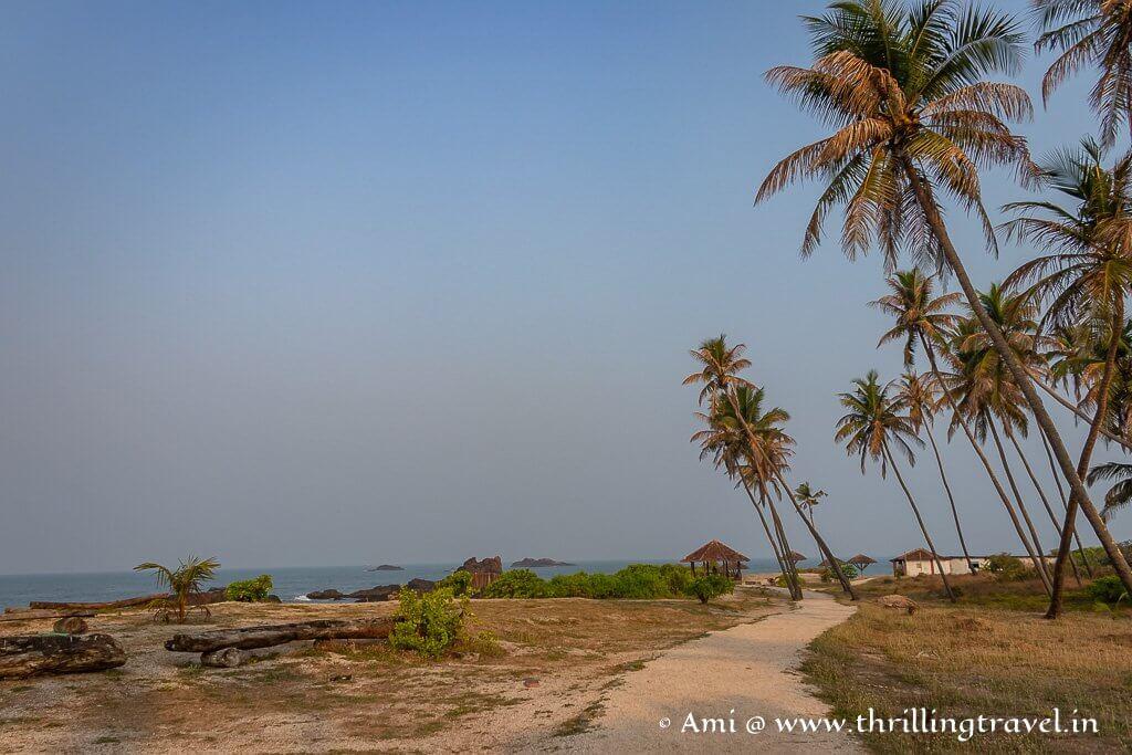 Coconut island - the main Udupi St Mary's Island