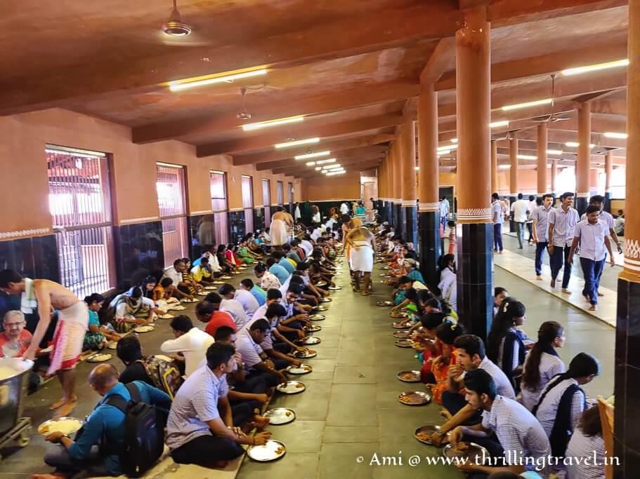 Annadanam - the reason Sri Krishna Temple Udupi