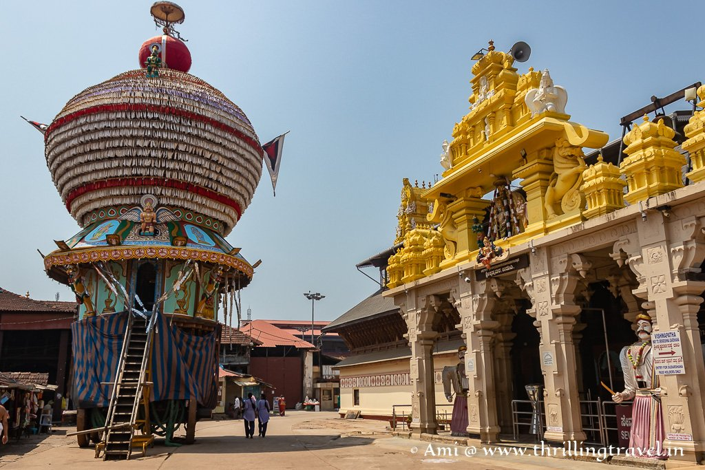 Udupi Krishna Temple - one of the key places of pilgrimage in India