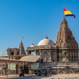 The gorgeous Rukmini Devi Temple Dwarka