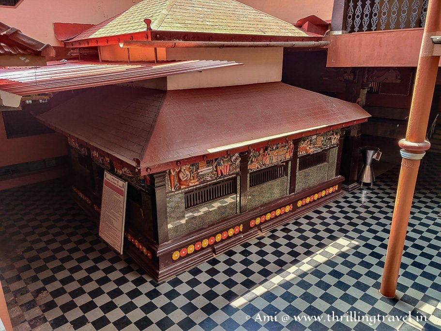 Lord Subramanya's shrine in Udupi Krishna temple
