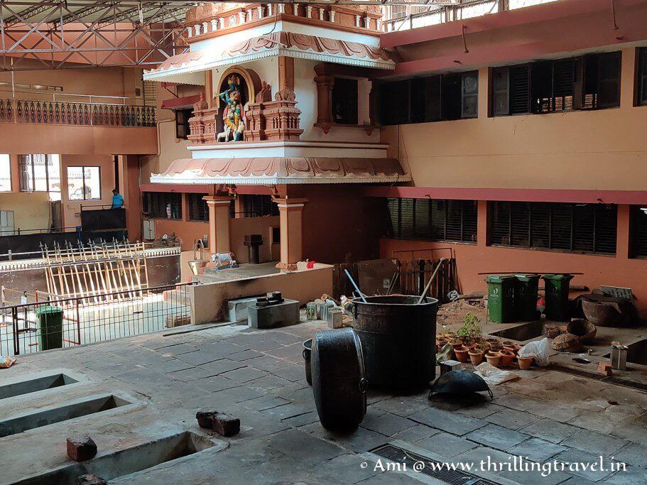 Udupi Krishna Temple Kitchen