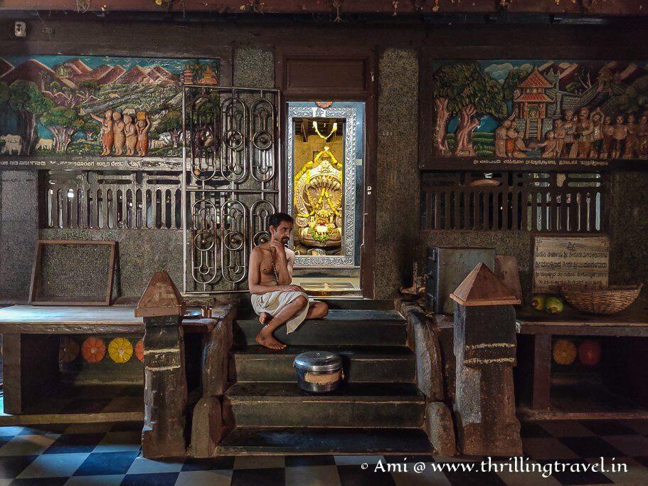 The legendary shrine of Lord Subramanya in Sri Krishna Temple, Udupi
