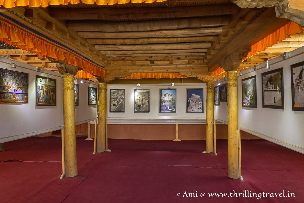 Hall of Public Audience that now has been converted to Leh Palace Museum