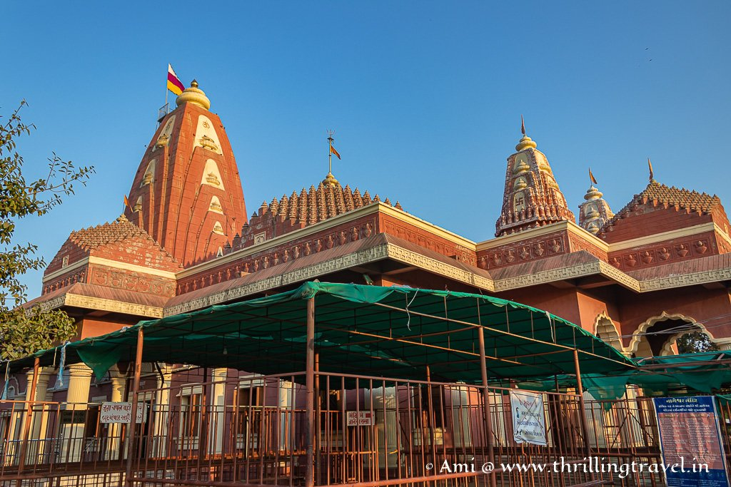 The renovated temple of Nageshwar Jyotirlinga