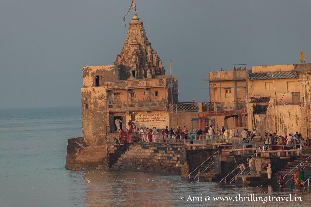 Samudra Narayana temple in Dwarka