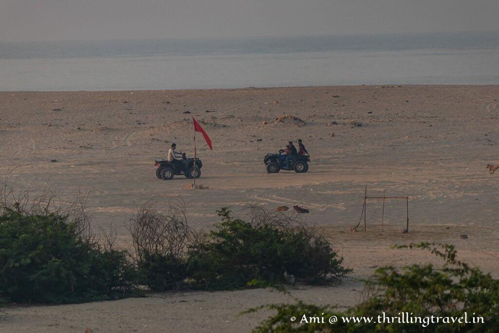 ATV rides in Dwarka near Panch kui