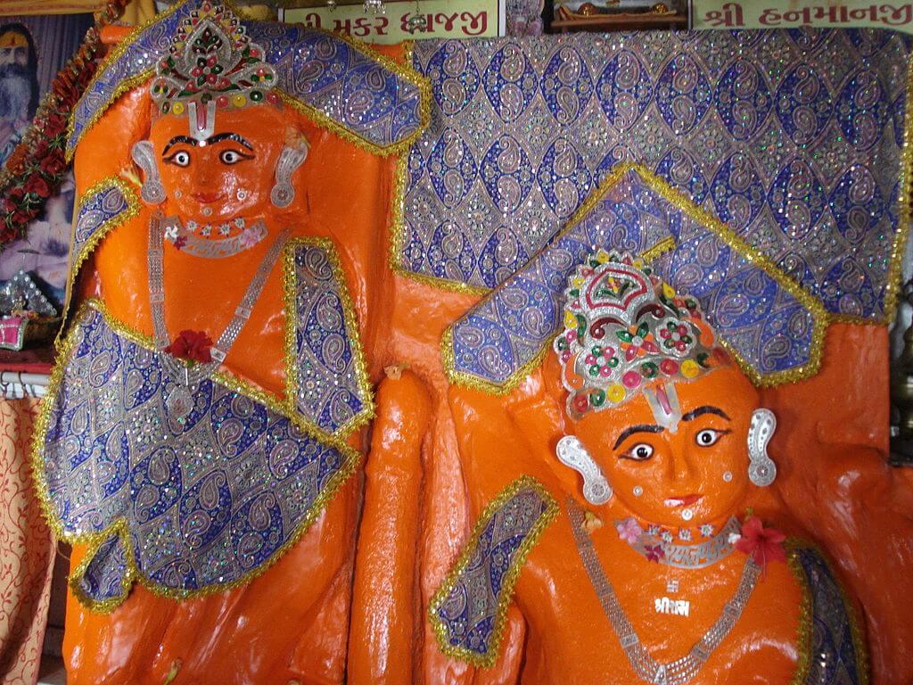 Hanuman Temple on Bet Dwarka island