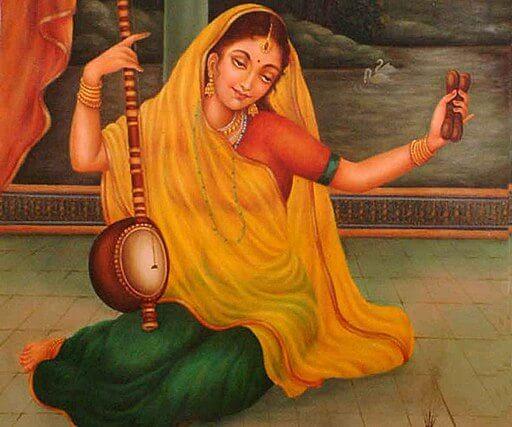 Mirabai - an ardent devotee of Sri Krishna