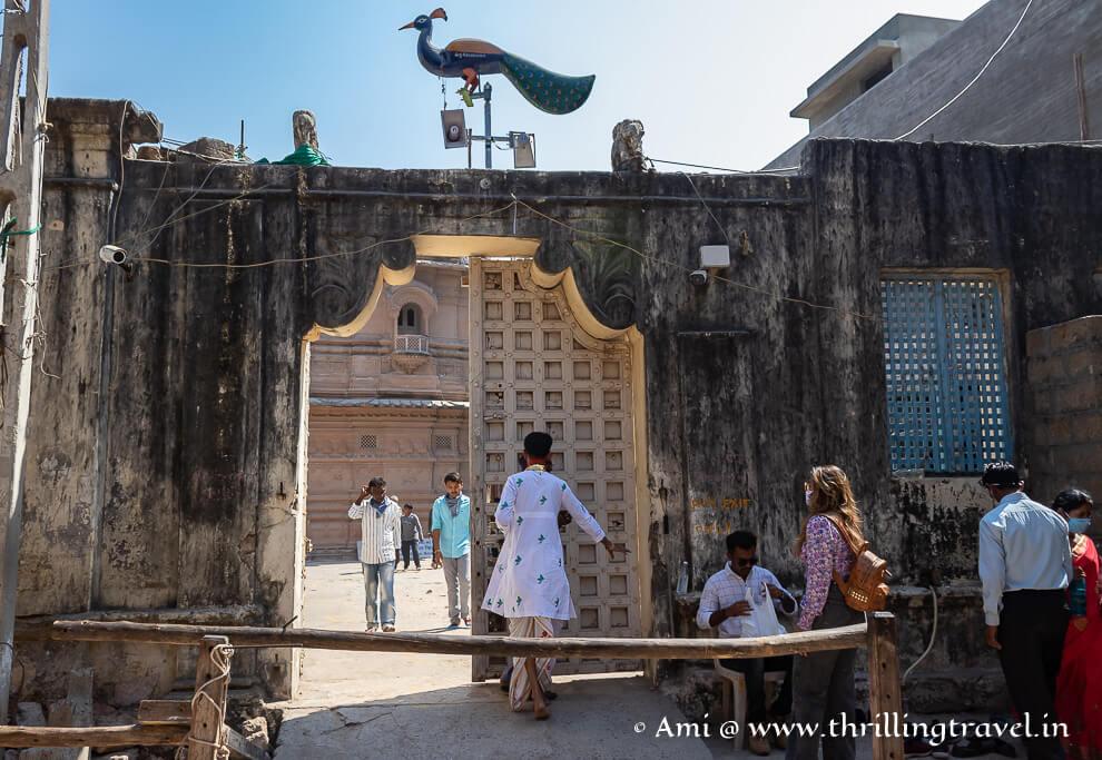 The Krishna temple at Beyt Dwarka