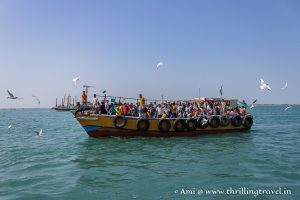 Getting to Bet Dwarka by a ferry from Okha