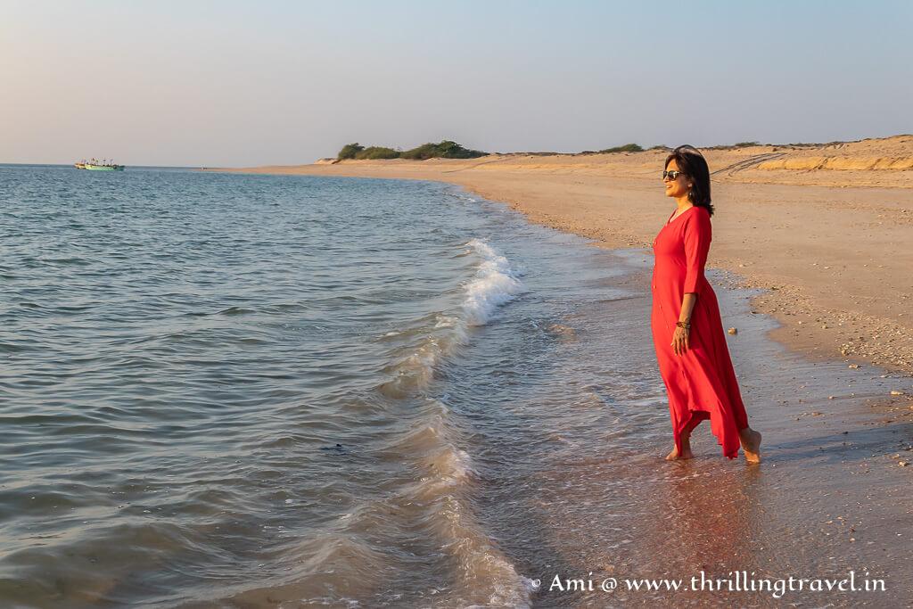 Shivrajpur beach Dwarka is now a blue flag beach
