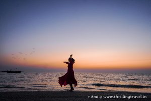 Shivrajpur Beach - the best beach in Dwarka