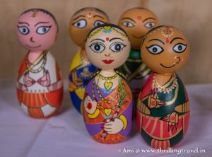 Channapatna dolls - the ones I bought
