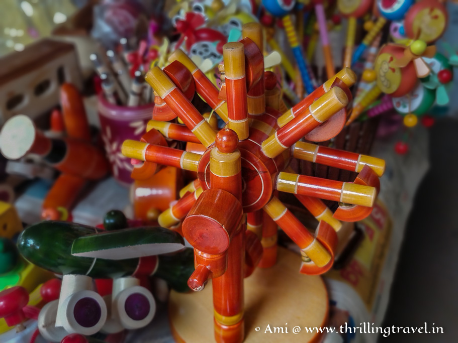 The heritage Channapatna toys