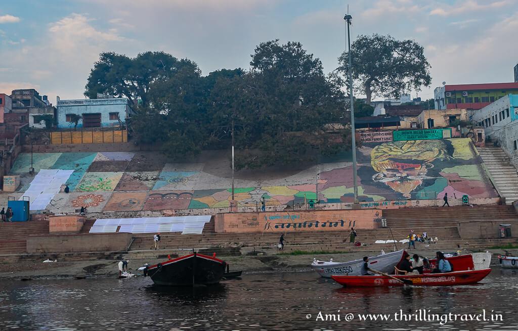 Paintings of Varanasi ghats