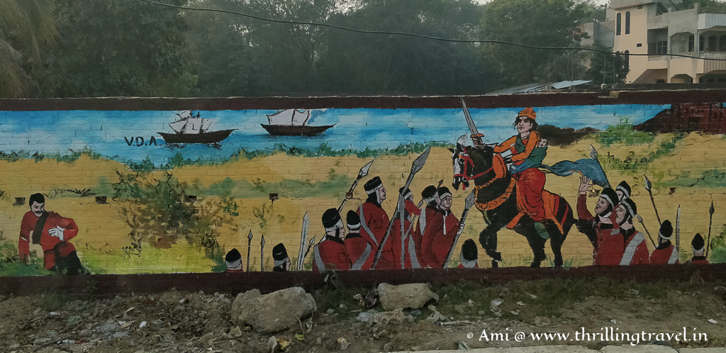 Possibly a scene from the battle of Jhansi
