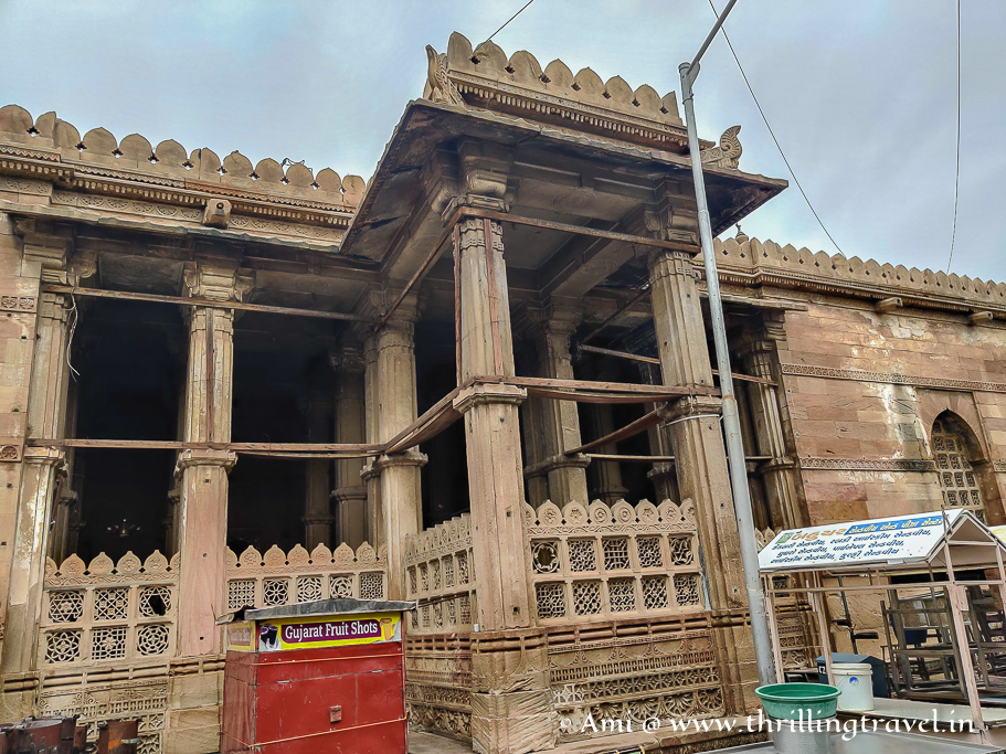 Badshah no Haziro - the final resting place of Ahmed Shah I who is considered to be founder of Ahmedabad
