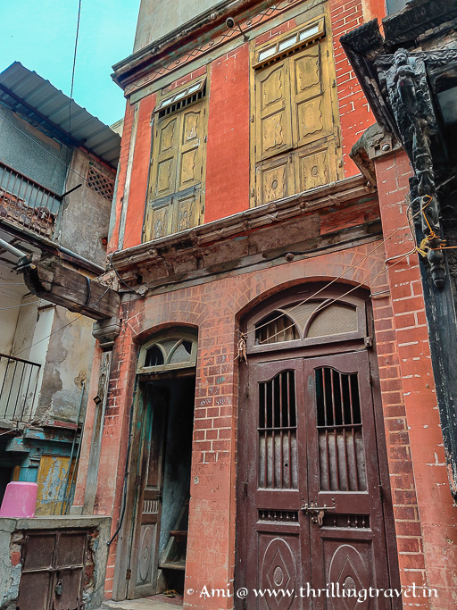 The Colonial touch to a home in Kuvavalo Khancho of Ahmedabad