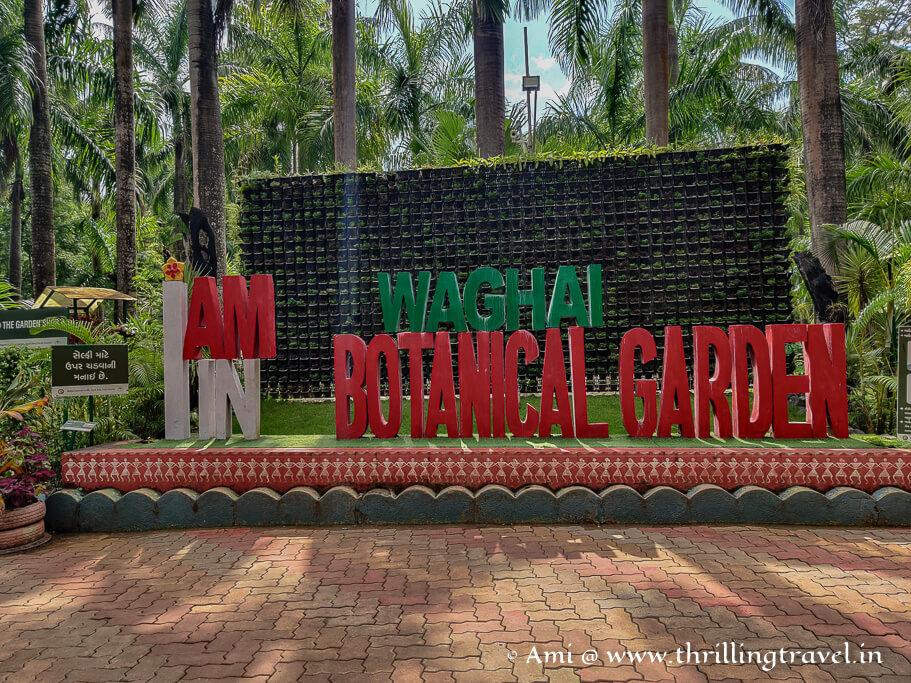 Gujarat's largest garden - Waghai botanical garden