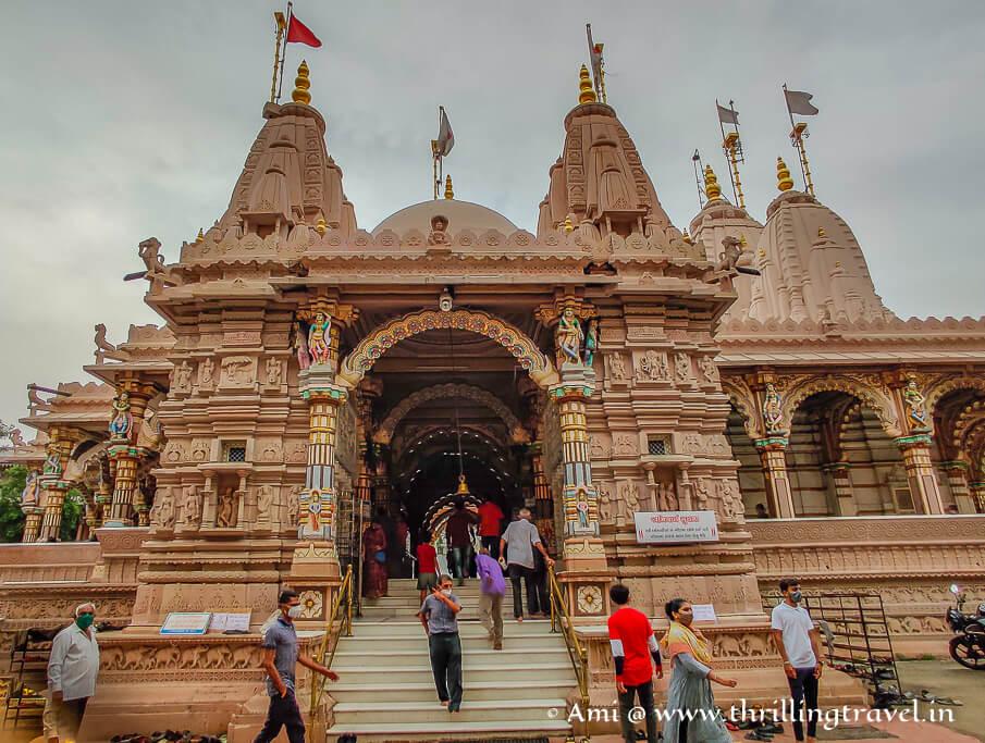 The Nar-Narayan mandir - Kalupur Swaminarayan temple